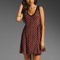 Free People Molly Swing Dress in Sangria from REVOLVEclothing.com