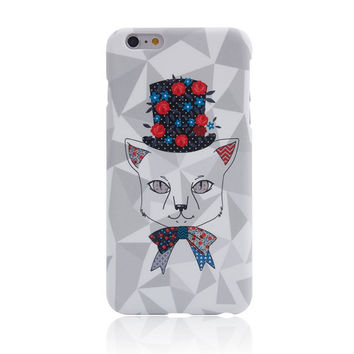 I am a Cat 5 Creative Handmade iPhone creative cases for 5S 6 6S Plus