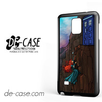 Doctor Who With Merida For Samsung Galaxy Note 4 Case Phone Case Gift Present YO