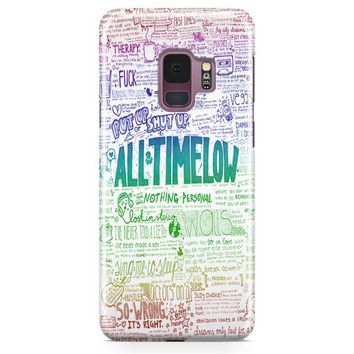 All Time Low Samsung Galaxy S9 Case | Casefantasy