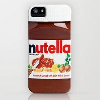 Nutella iPhone Case by Nicklas Gustafsson   Society6