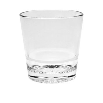Majestic Gifts E66912-S6 Quality Glass Stackable Double Old Fashioned Tumbler 13.5 oz. Set of 6