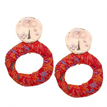 NAUTYA - Bollywood Embroidered Earrings