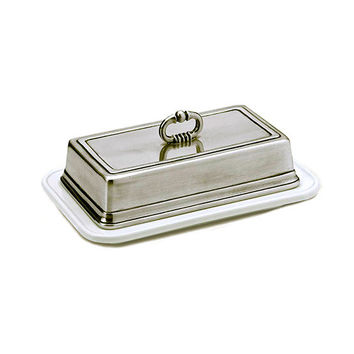 Match Pewter Convivio Single Butter Dish
