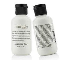 Philosophy Miracle Worker Miraculous Anti-Aging Lactic Acid Cleanser & Mask Duo Pack (Travel Size) Skincare