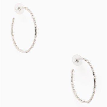 save the date large hoops | Kate Spade New York