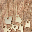 State Love Necklace - Arkansas & Alabama & Louisiana