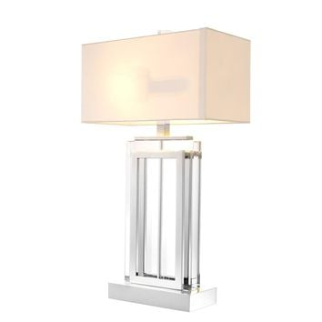 Crystal Glass Table Lamp | Eichholtz Arlington
