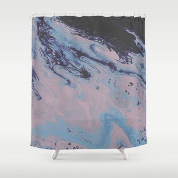 Cold Shoulder Shower Curtain by DuckyB