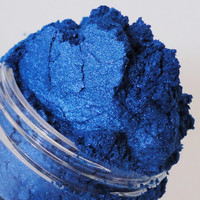 Siren  Mineral Makeup Eye Shadow  10g Sifter Jar Blue Eyeshadow