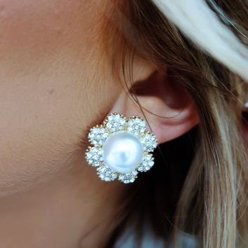 All I Could Want Earrings: Pearl/Multi