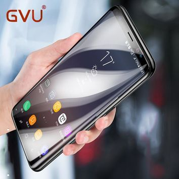 GVU 3D Curved Tempered Glass For Samsung Galaxy Note 8 Full Cover Screen Protector Protective Film For Samsung S8 S8 Plus Glass
