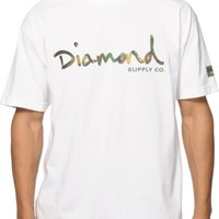 Diamond Supply Co Camo OG Script T-Shirt