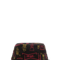 Huf Drink Up Bucket Hat in Black