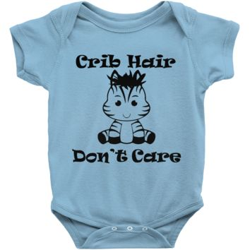 Crib Hair Don't Care Infant Bodysuit
