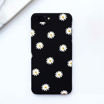 Daisy Graphic Phone Case For iPhone 5 5s 5c 6 6s 7 Plus