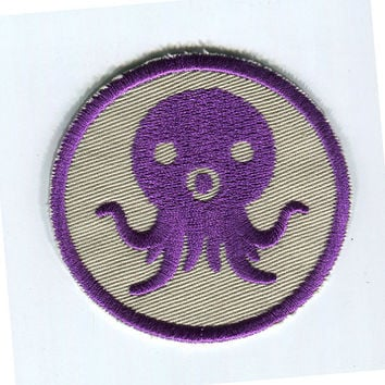 Rare Purple Octonauts Iron On Patch 2.4""
