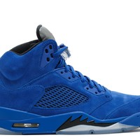 Best Deal Air Jordan 5 Retro Blue Suede Game Royal