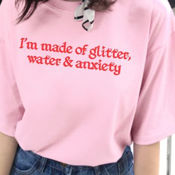 Glitter, Water and Anxiety T-Shirt