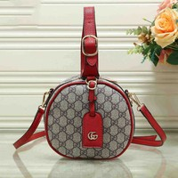 GUCCI Bucket bag Hot Sale Round Type Lady Bag B-MYJSY-BB Red
