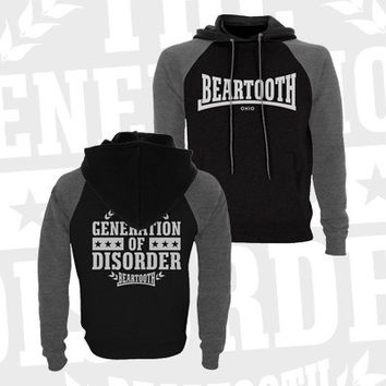 Beartooth - Disorder Lightweight Athletic Hoodie