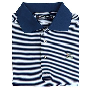 The Performance Polo in Navy by Over Under Clothing