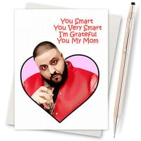 Funny Mothers Day - Dj Khaled Card - Another One - Key To Success - Major Key - Funny Mom Card - Greeting Card - Mothers Day Gift - Grateful