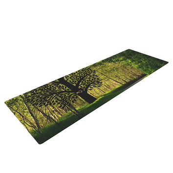"Robin Dickinson ""Love Nature"" Forest Yoga Mat"