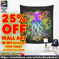 25% Off All Wall Art! with Code ARTNOW – On my Society6 Shop Today!