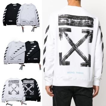 Hoodies Round-neck Pullover Brush [11532798407]
