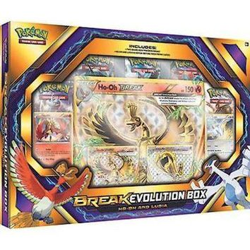 Ho-Oh & Lugia BREAK Evolution Booster Box POKEMON TCG Collection Sealed Packs Out of Print