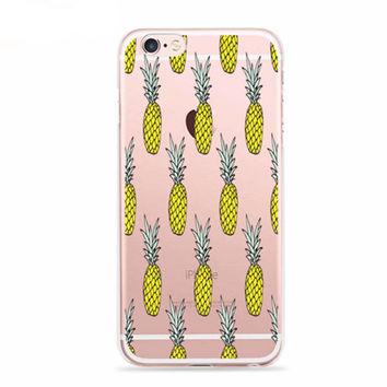 Pineapple Pattern Aloha Case for iPhone
