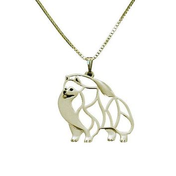 Puppy Dog Lover Memorial Pet Necklace For Women