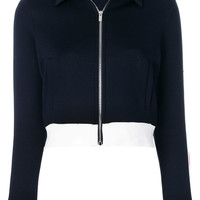 Miu Miu Cropped Sporty Jacket - Farfetch