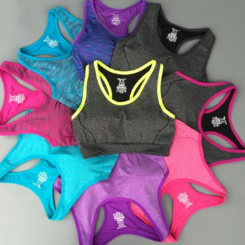High strength double color Sports  Yoga vest B0014726