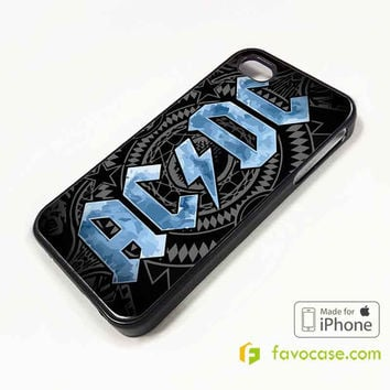 ACDC Rock Band AC/DC iPhone 4/4S 5/5S 5C 6 6 Plus Case Cover