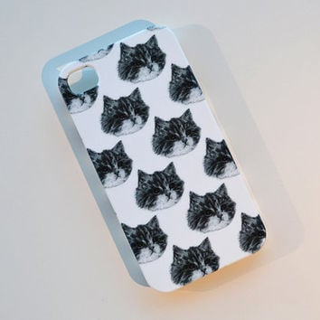 cat phone case - iphone 5 - kitty cats