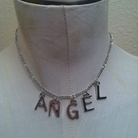 "High Finds — ""ANGEL"" Chain Choker"
