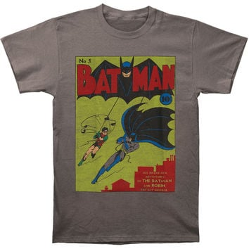 Batman Men's  Issue One T-shirt Grey Rockabilia