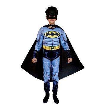 Super Hero Jumpsuit Superman Batman Muscle Clothes Suit Cosplay Costumes Halloween Children's Day Gift