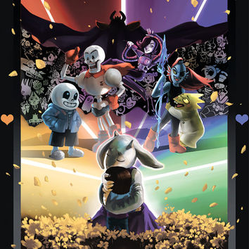 Be Good, Okay? Undertale Print