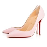 Decoltish 100 Dolly Suede - Women Shoes - Christian Louboutin