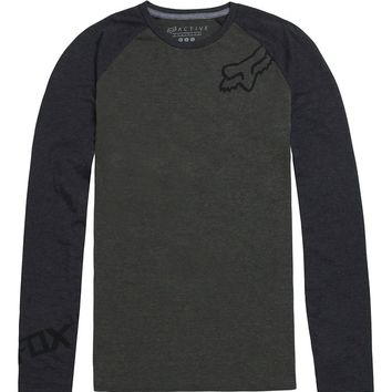 Fox Gravity Tech Raglan T-Shirt - Mens Tee - Grey