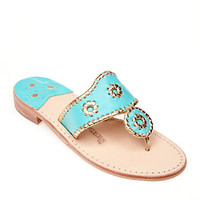 Jack Rogers Original Navajo Sandals Blue