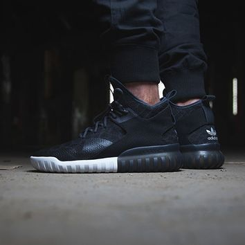 "Tubular X Primeknit ""Core Black"""