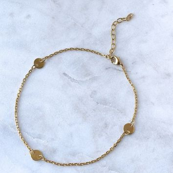 Lili Claspe x Sofia Anklet (Gold)