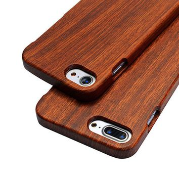 Style201 Dirt-Resistant Real Wooden Bamboo Case For Iphone 7 6S Plus 5S 0904-70