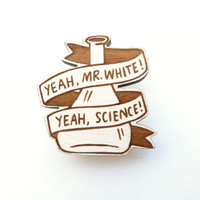 Breaking Bad Brooch - 'Yeah, Mr White'