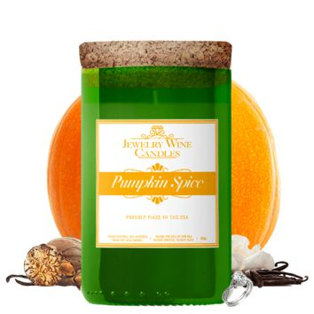 Pumpkin Spice | Jewelry Wine Candle®