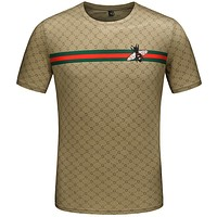 Gucci Fashion Casual Print Shirt Top Tee